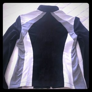 BEBE sport fitted zip up jacket.